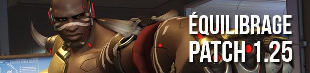 Équilibrage des héros au patch 1.25