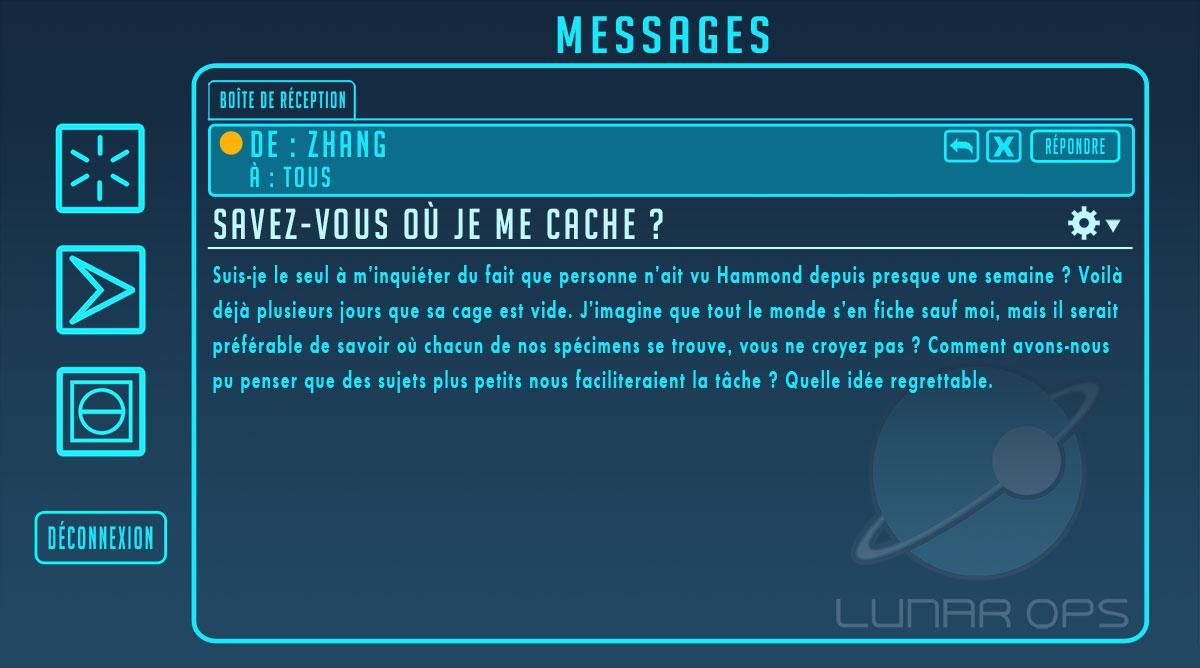 Un message publié en juin 2017 lors de la sortie de la map Colonie lunaire Horizon