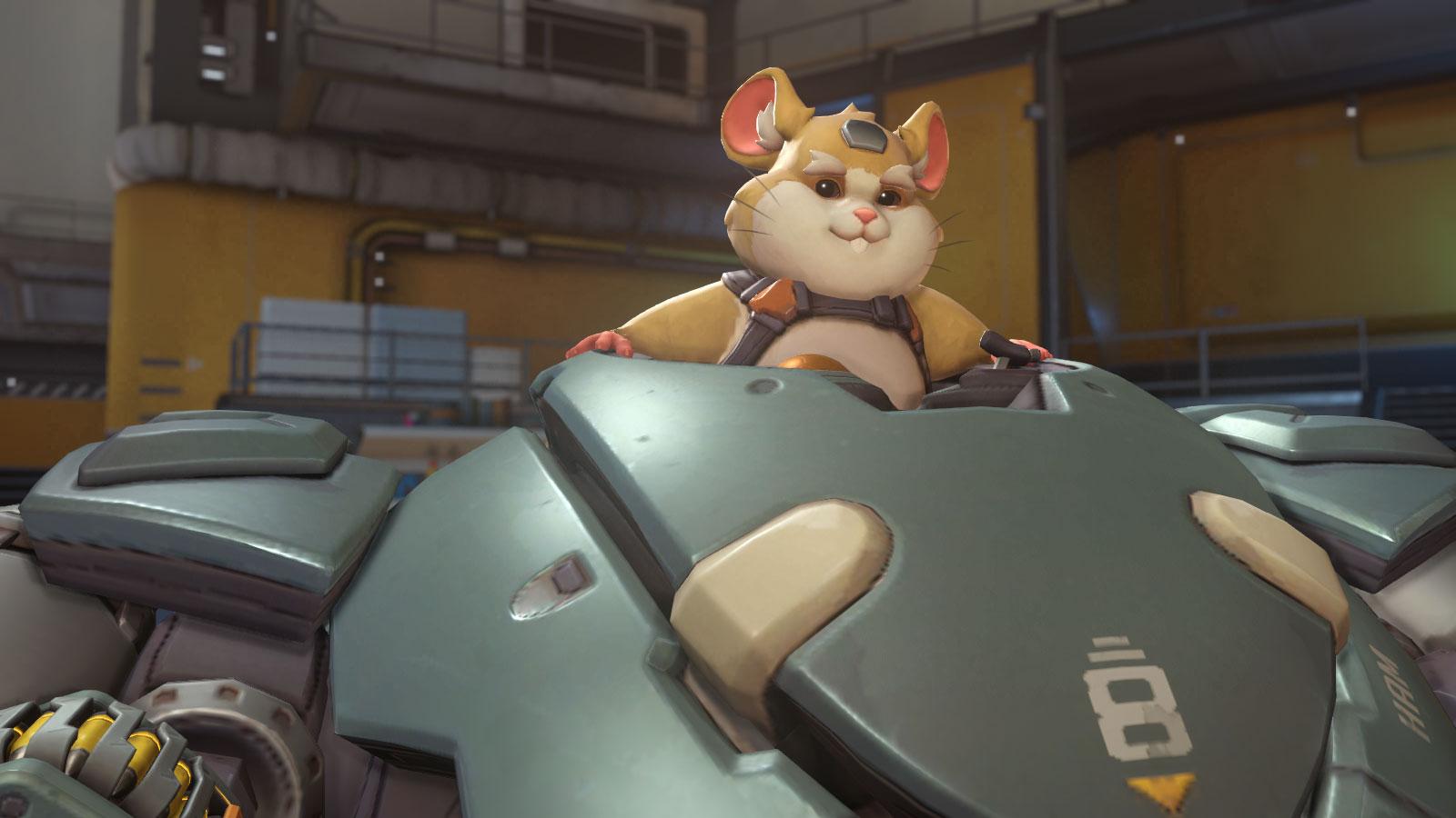 Nouveau héros Bouldozer (Hammond) dans Overwatch