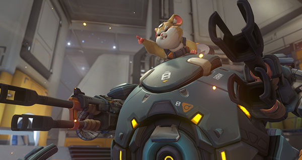 bouldozer d'overwatch : le gameplay en video du nouveau heros par potxeca