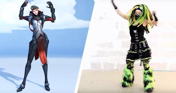 overwatch anniversaire 2018 : les danses qui ont inspire les emotes