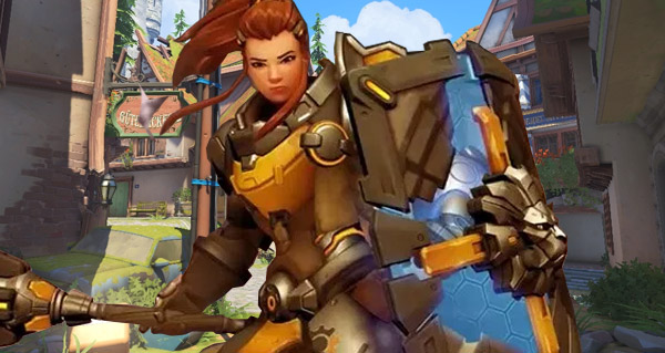 brigitte d'overwatch : gameplay en video du soutien hybride