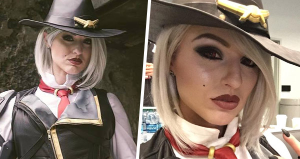 le cosplay de ashe par karolina lefay