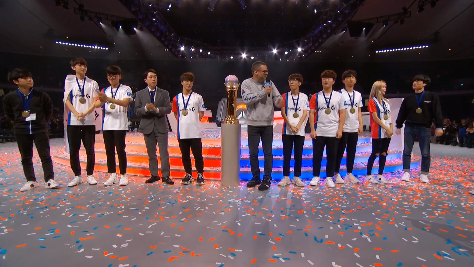 La Corée du sud remporte pour la troisième fois la compétition