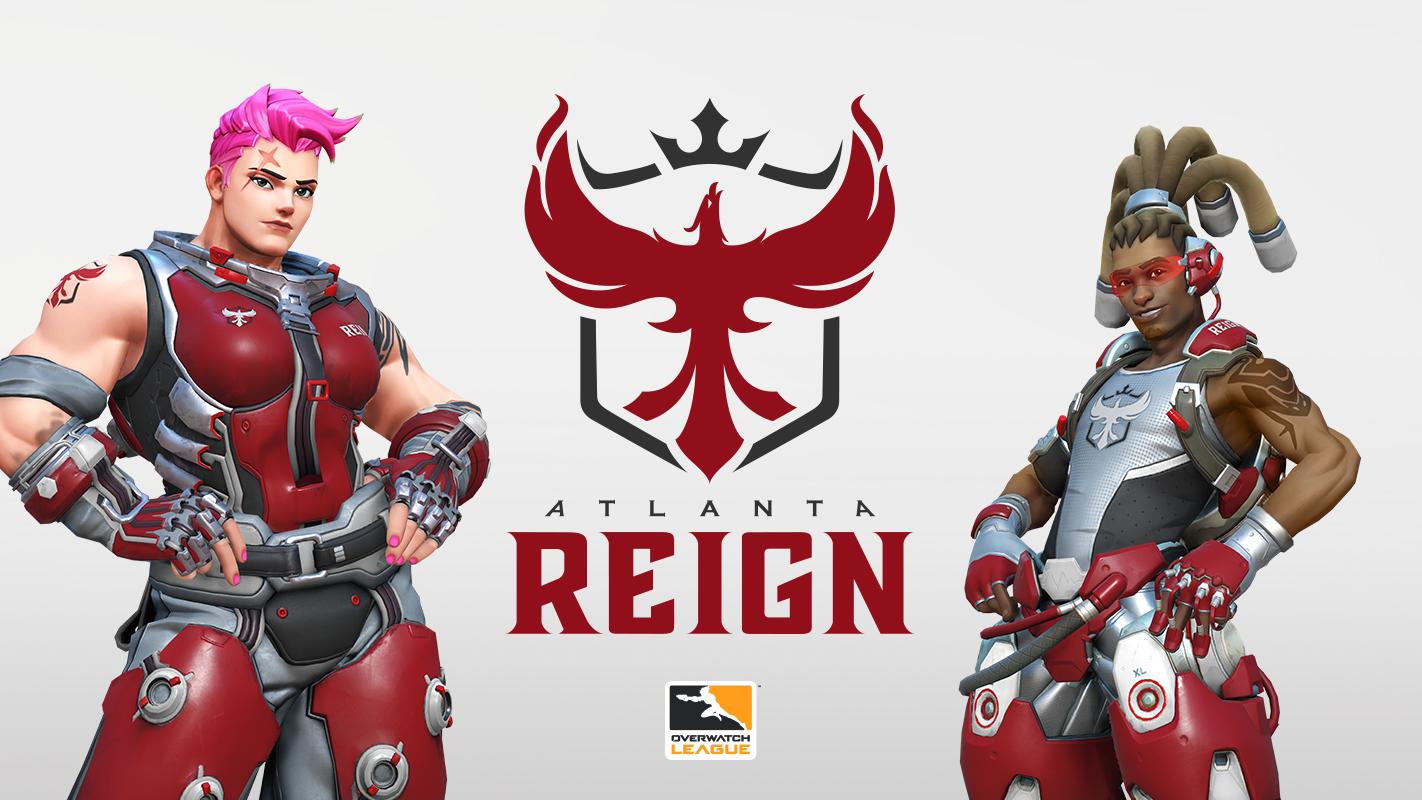 Atlanta Reign de l'Overwatch League 2019