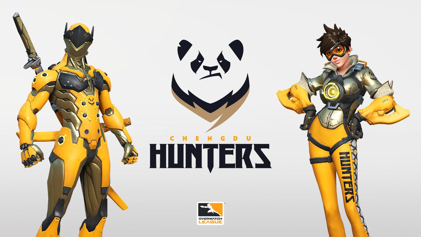 Chengdu Hunters de l'Overwatch League 2019