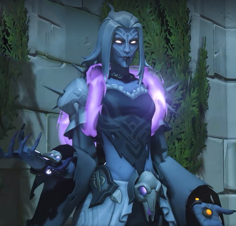 Moira skin légendaire Banshee