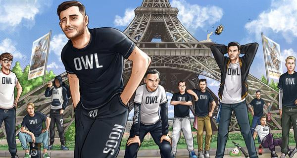 overwatch league 2019 : paris devoile son equipe