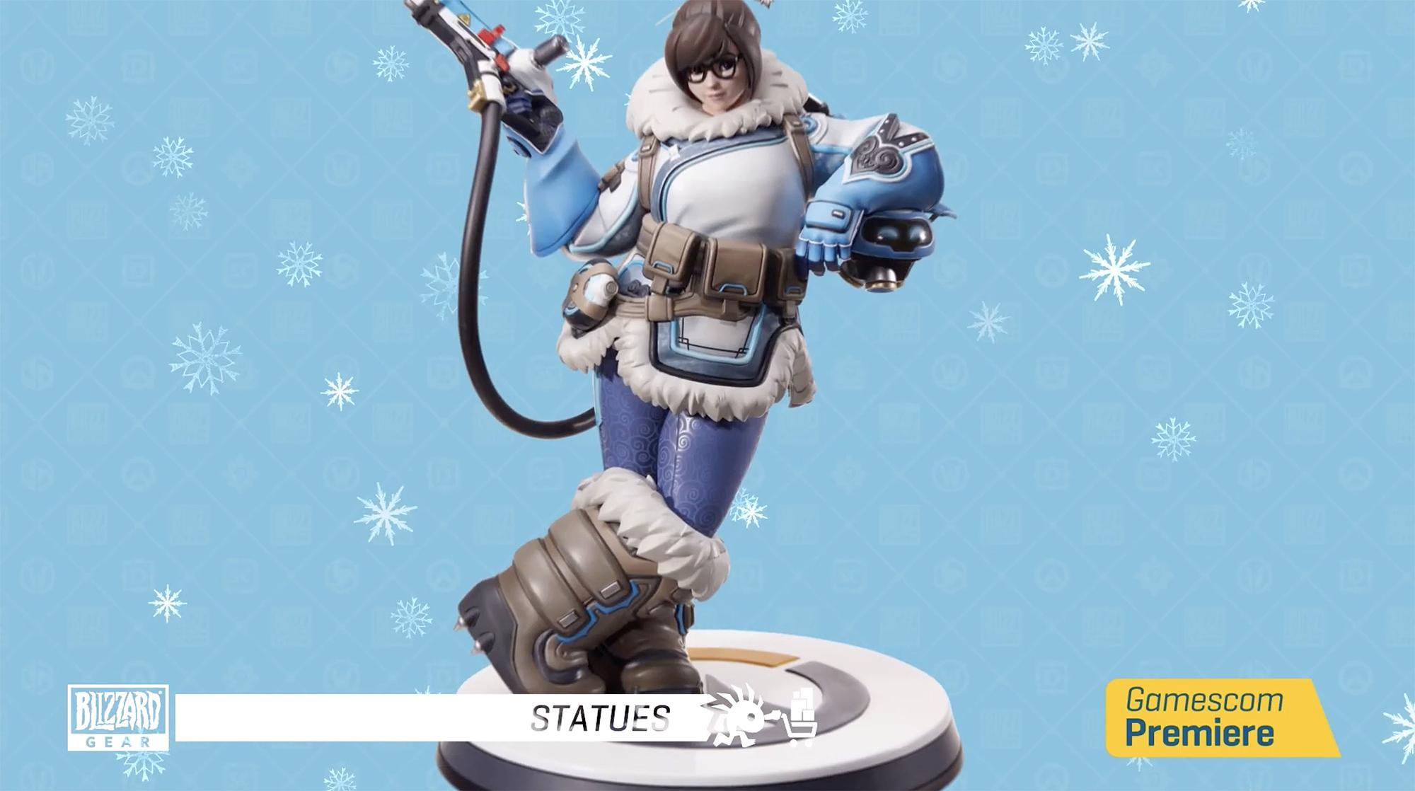 Statuette Mei présentée pour la première fois à la Gamescom (175 euros)