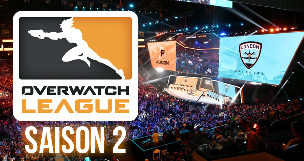overwatch league (saison 2) : resultats, informations et suivi de la ligue