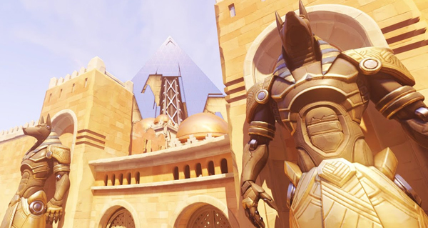 overwatch disposait d'un systeme de ping au debut de son developpement