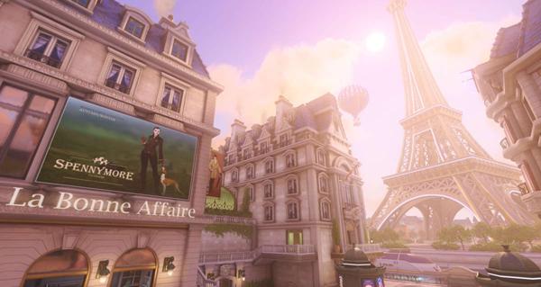 map paris : une nouvelle carte pour overwatch