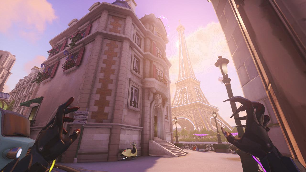 Map Paris Overwatch