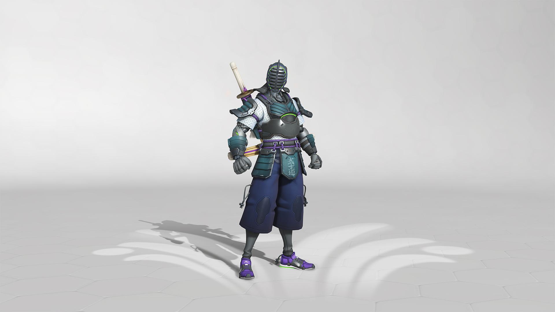 Skin légendaire Kendoka pour Genji