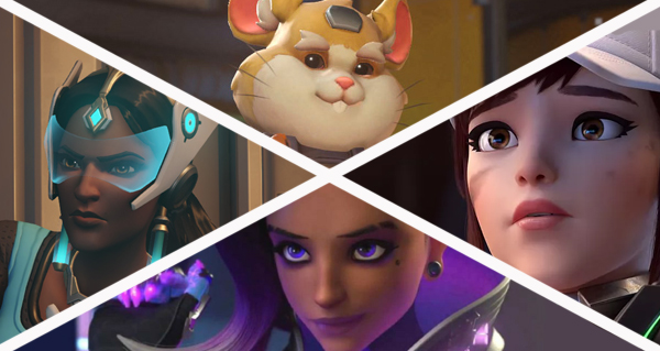 patch 1.39 : equilibrage supplementaire pour d.va, symmetra, sombra et bouldozer