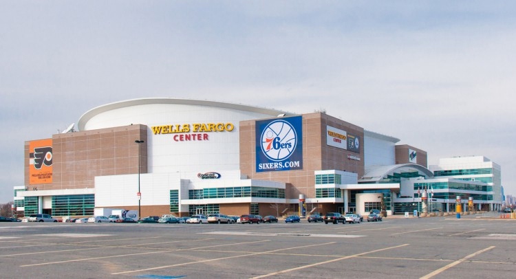 Wells Fargo Center à Philadelphie (Crédit photo : Ostadium)