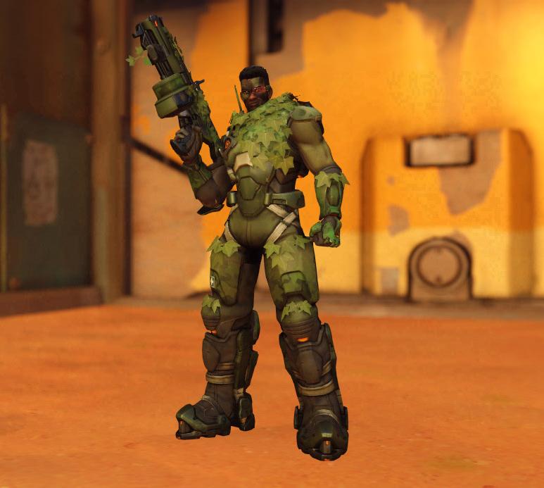 Skin camouflage Baptiste