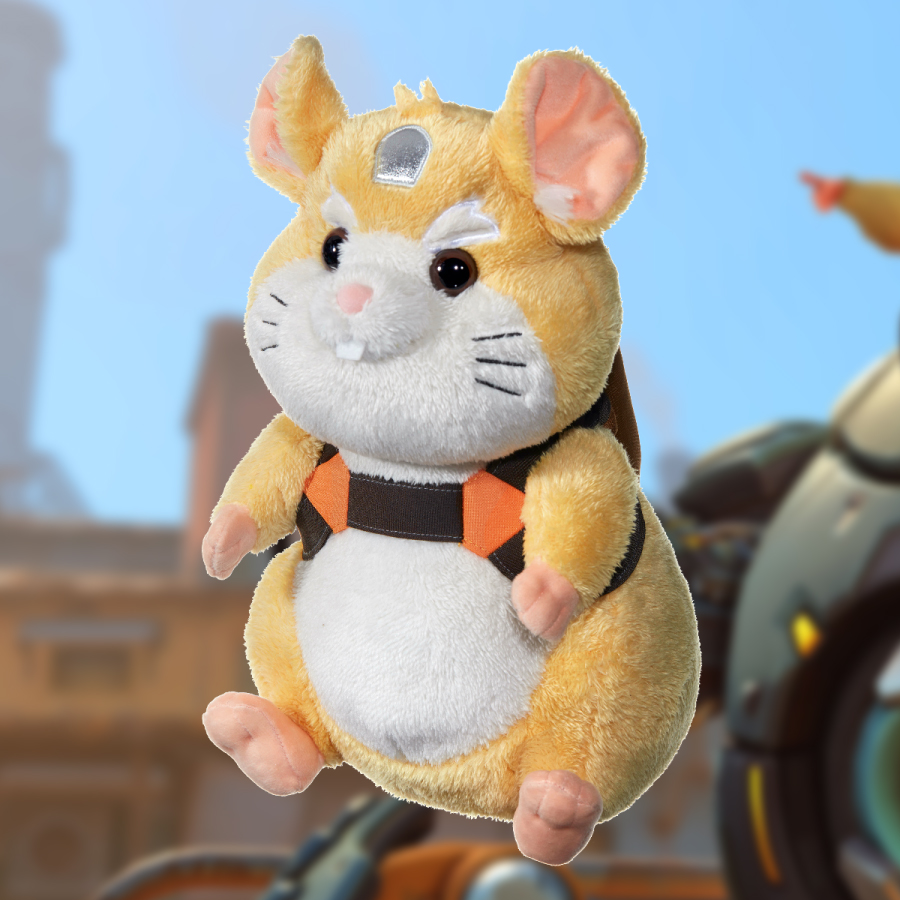 Peluche Hammond d'Overwatch