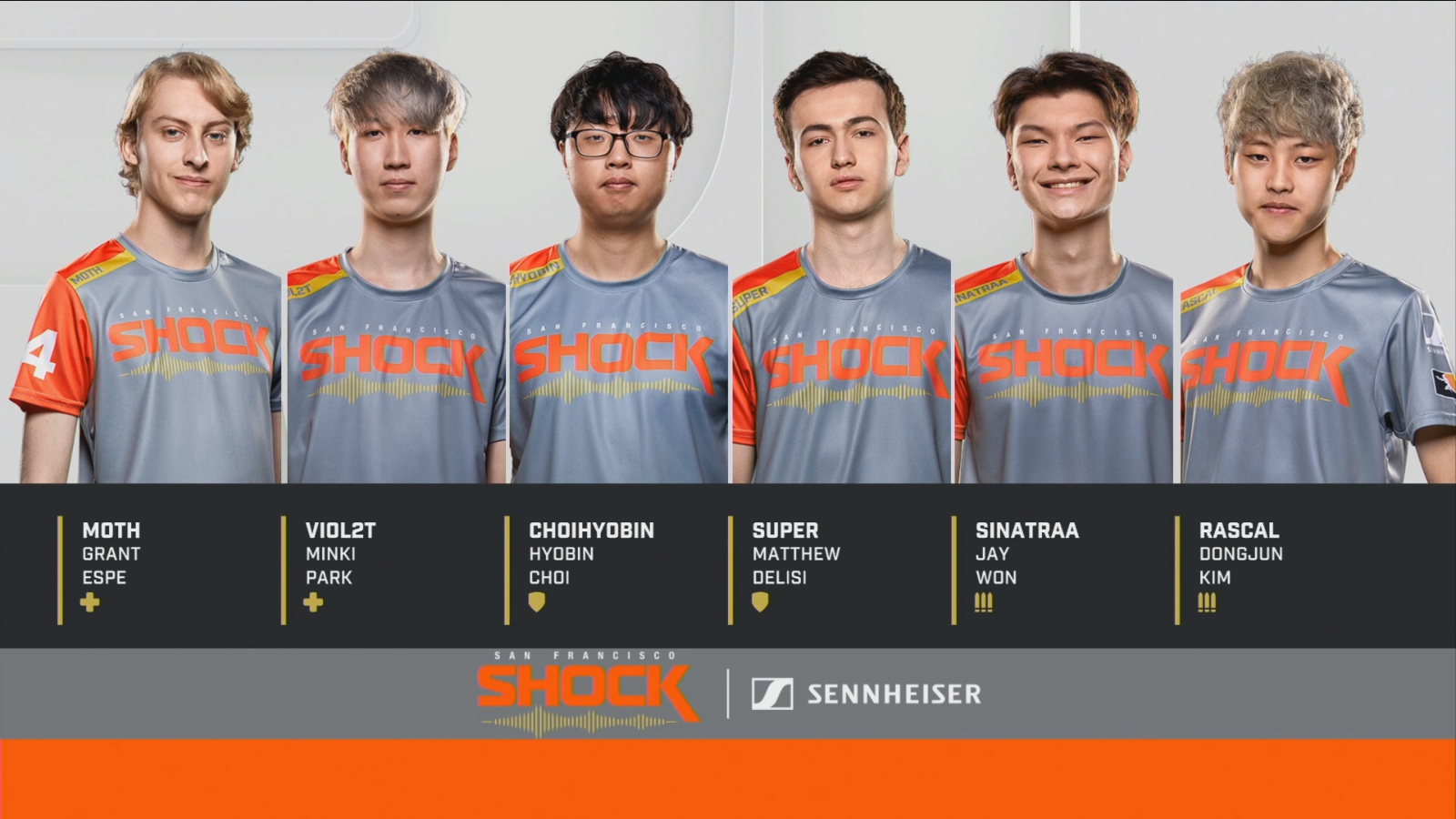 San Francisco Shock aux Playoffs période 1