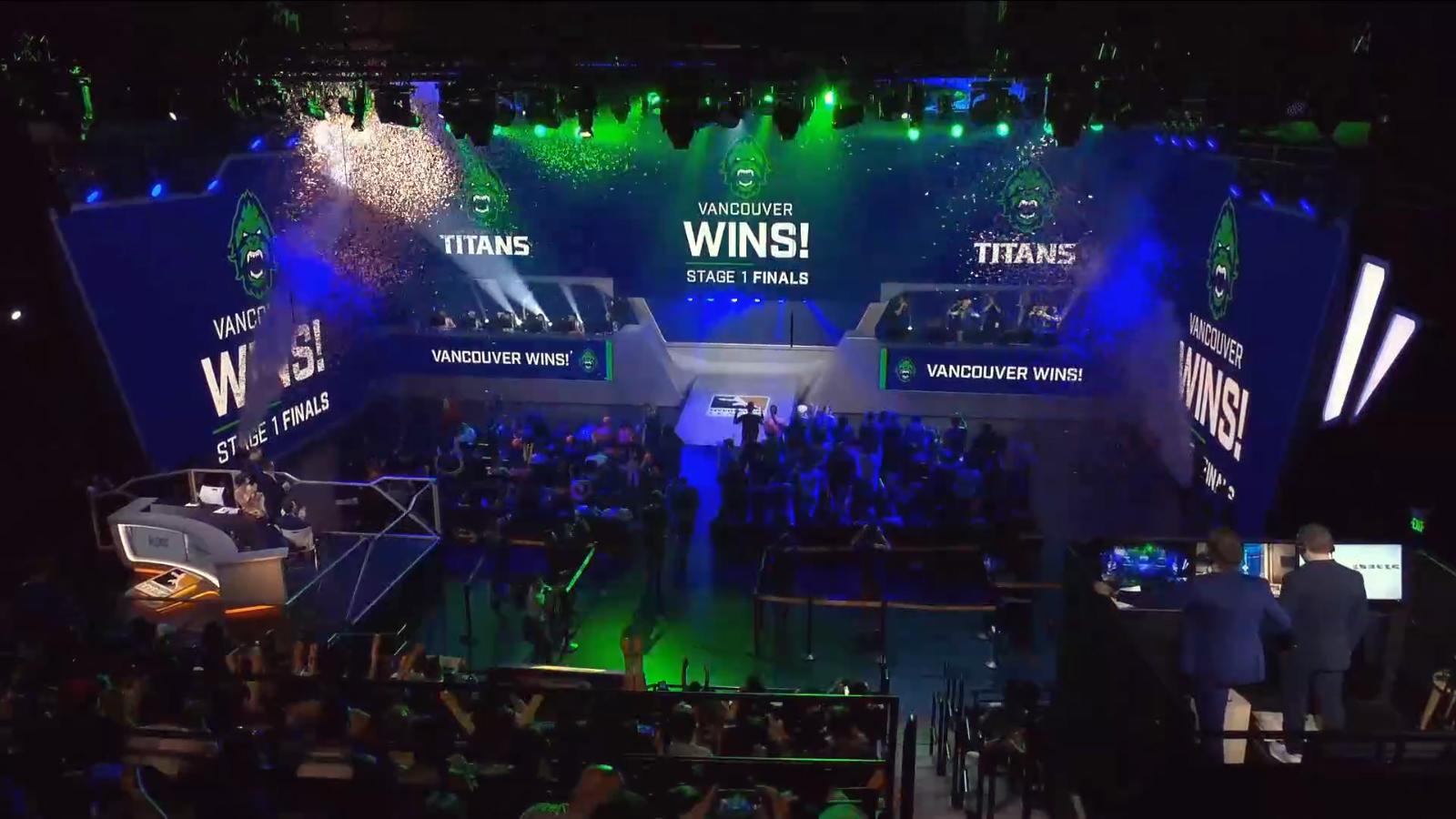 Les Vancouver Titans remportent les playoffs de la période 1 de l'Overwatch League 2019