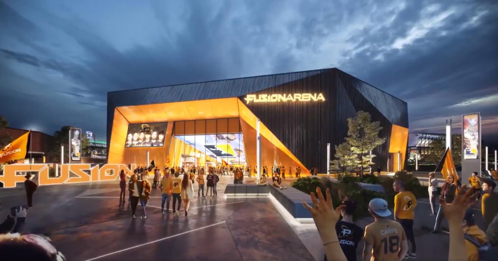 Une arène pour les Philadelphia Fusion en 2020