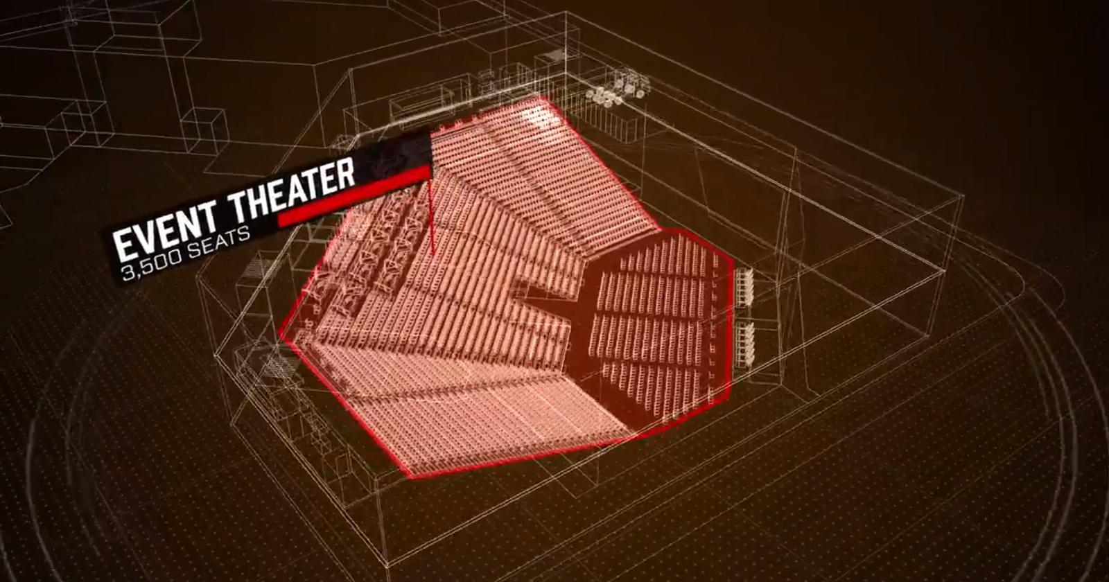 Plan de la Fusion Arena