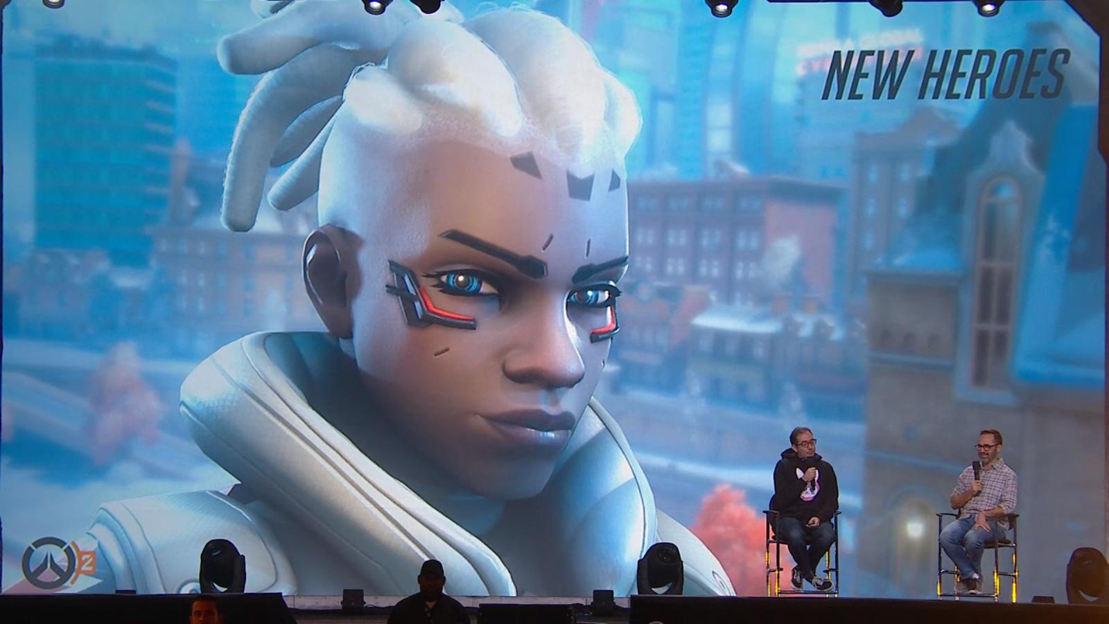 Sojourn est le nouveau héros disponible avec Overwatch 2