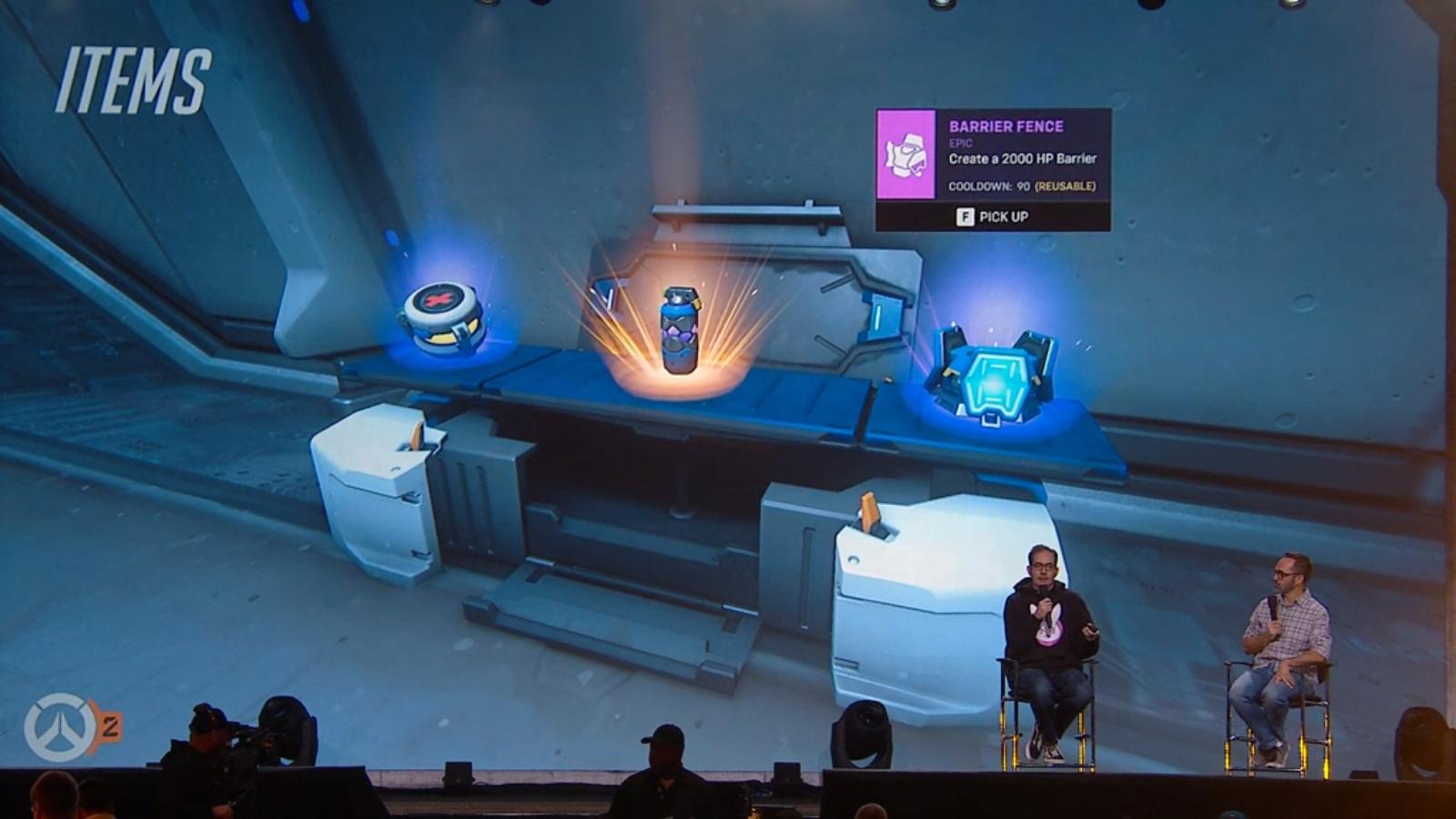 Les développeurs implémente un système d'objets disponible temporairement pendant les missions