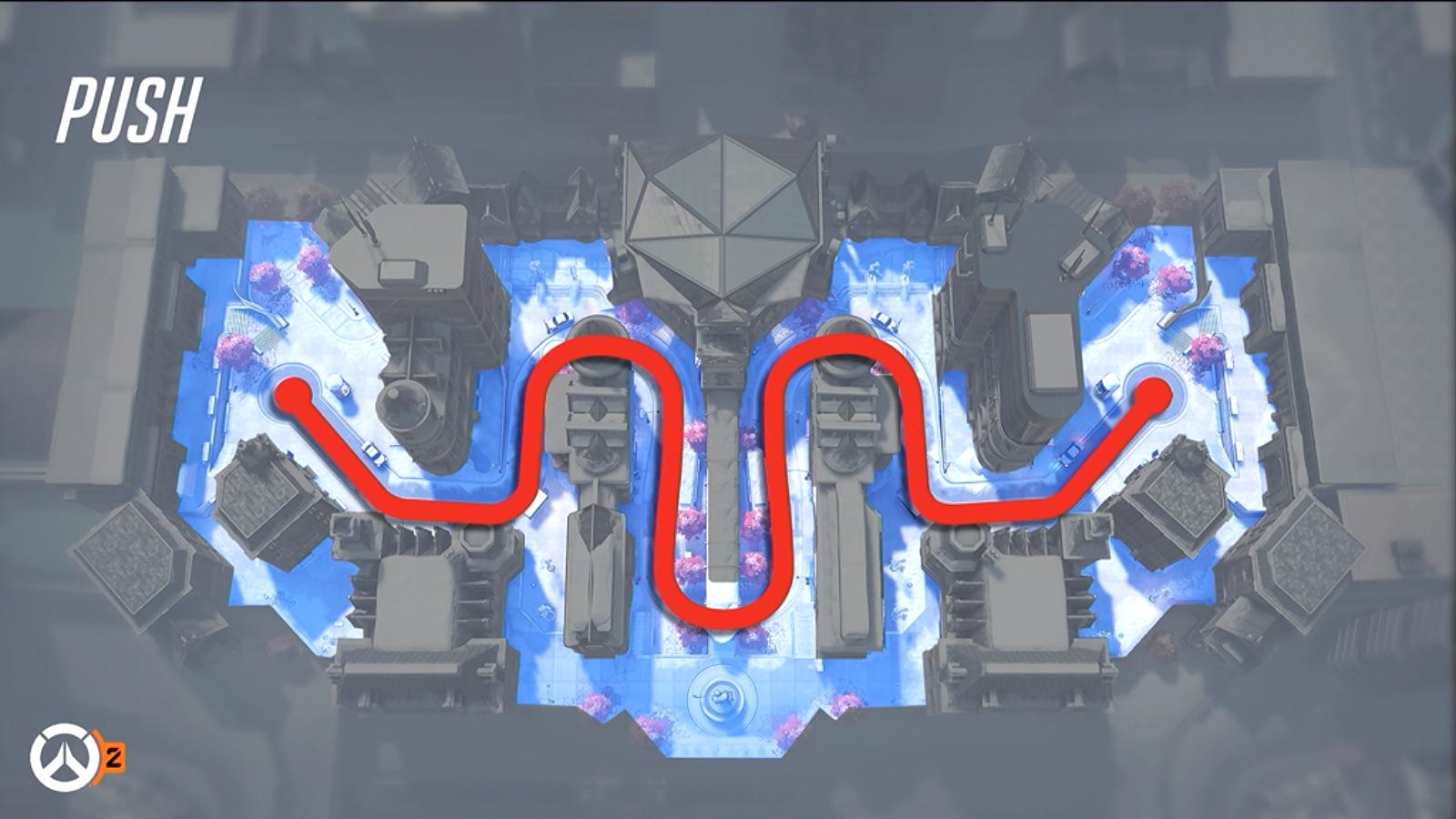 Mode de jeu Push (Pression dans Overwatch 2)