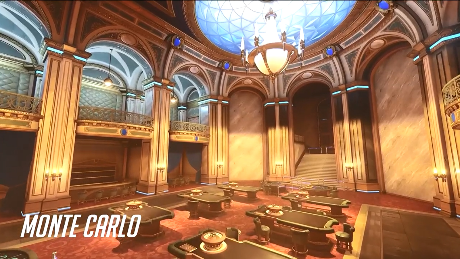 Map Monte-Carlo dans Overwatch 2