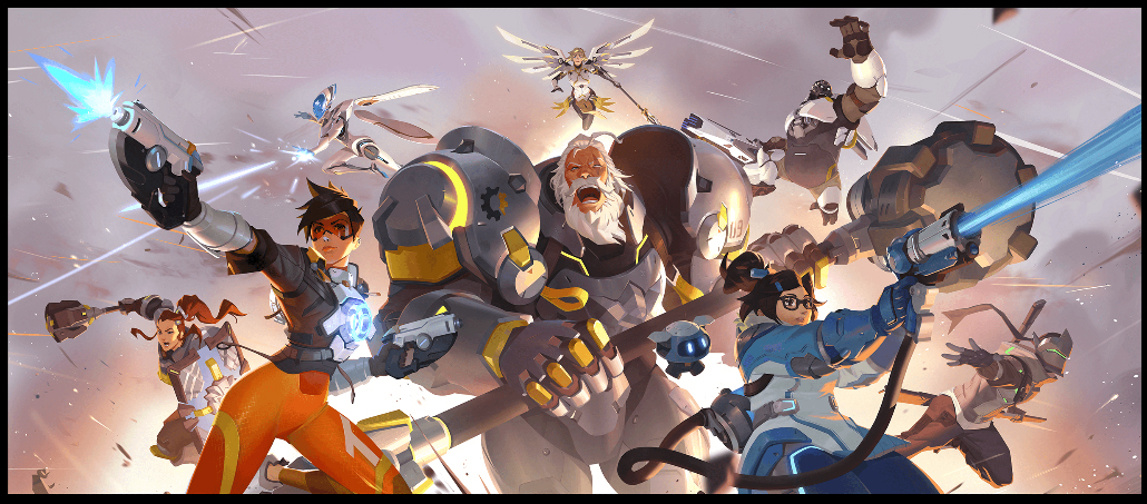 Print art Overwatch 2 (boutique blink)