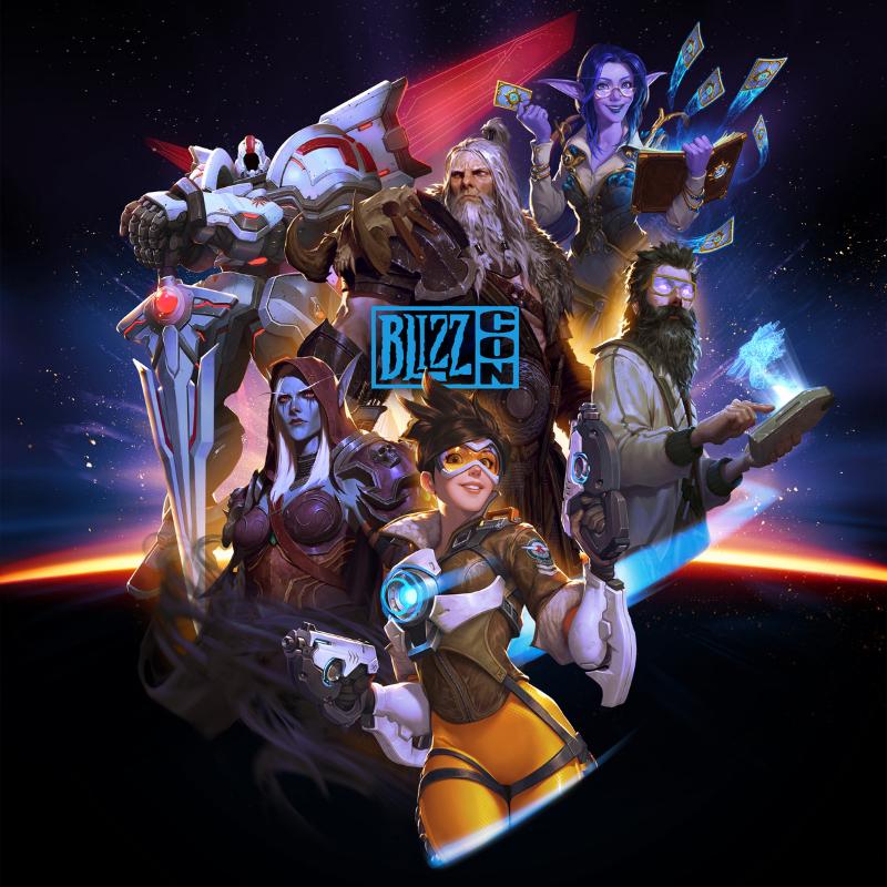 Nouvelle affiche pour la Blizzcon 2019