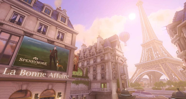 patch 1.40 overwatch : la map paris est temporairement desactivee