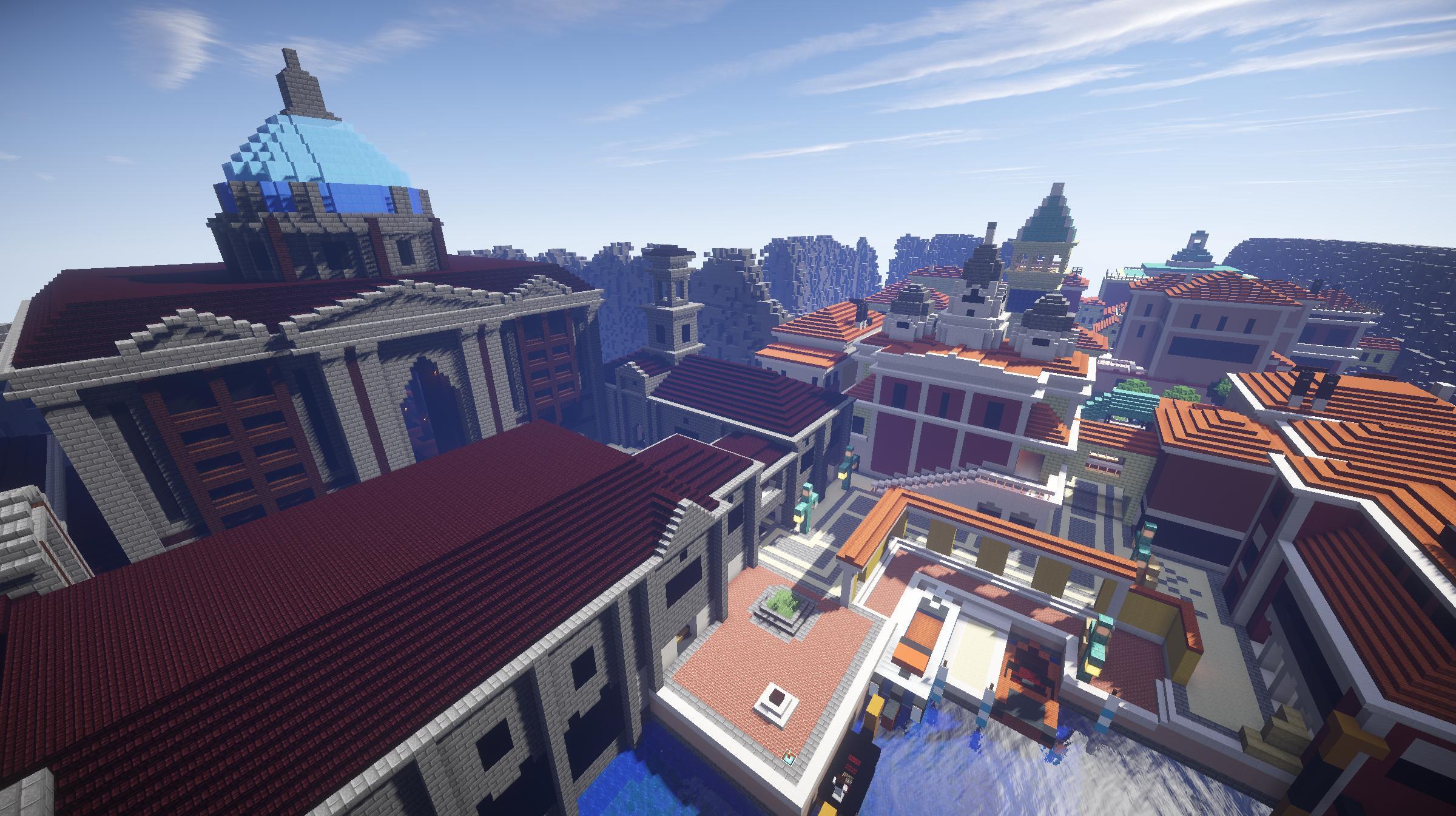 Halvencyon recrée la map Rialto dans Minecraft