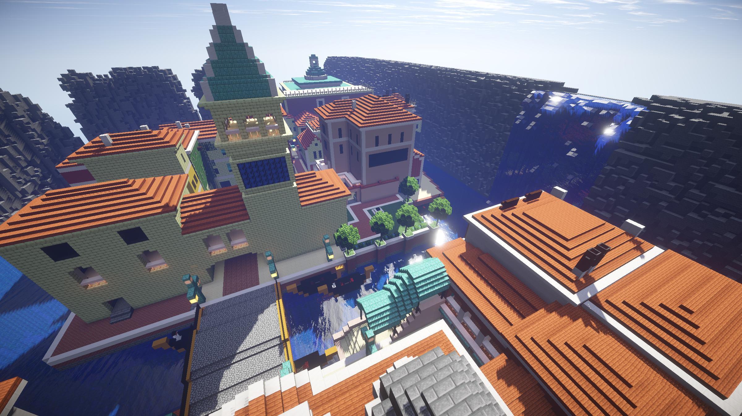 Rialto dans Minecraft