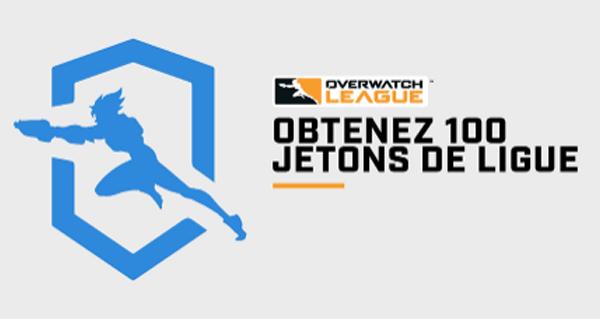 overwatch league : 100 jetons offert jusqu'au 29 avril 2020