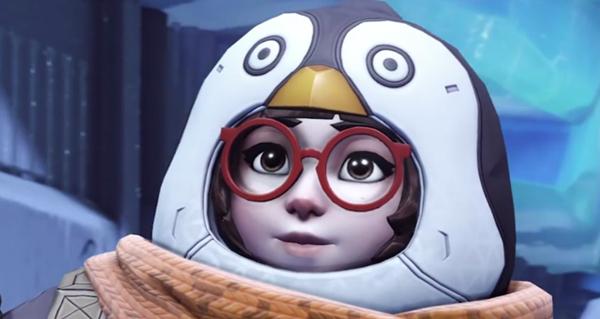 feerie hivernale 2020 : apercu du skin pingouin pour mei