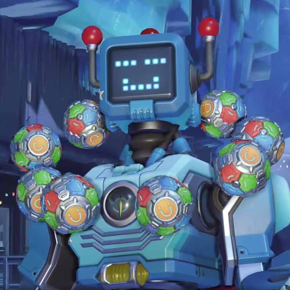 Zenyatta skin Toybot (2021)