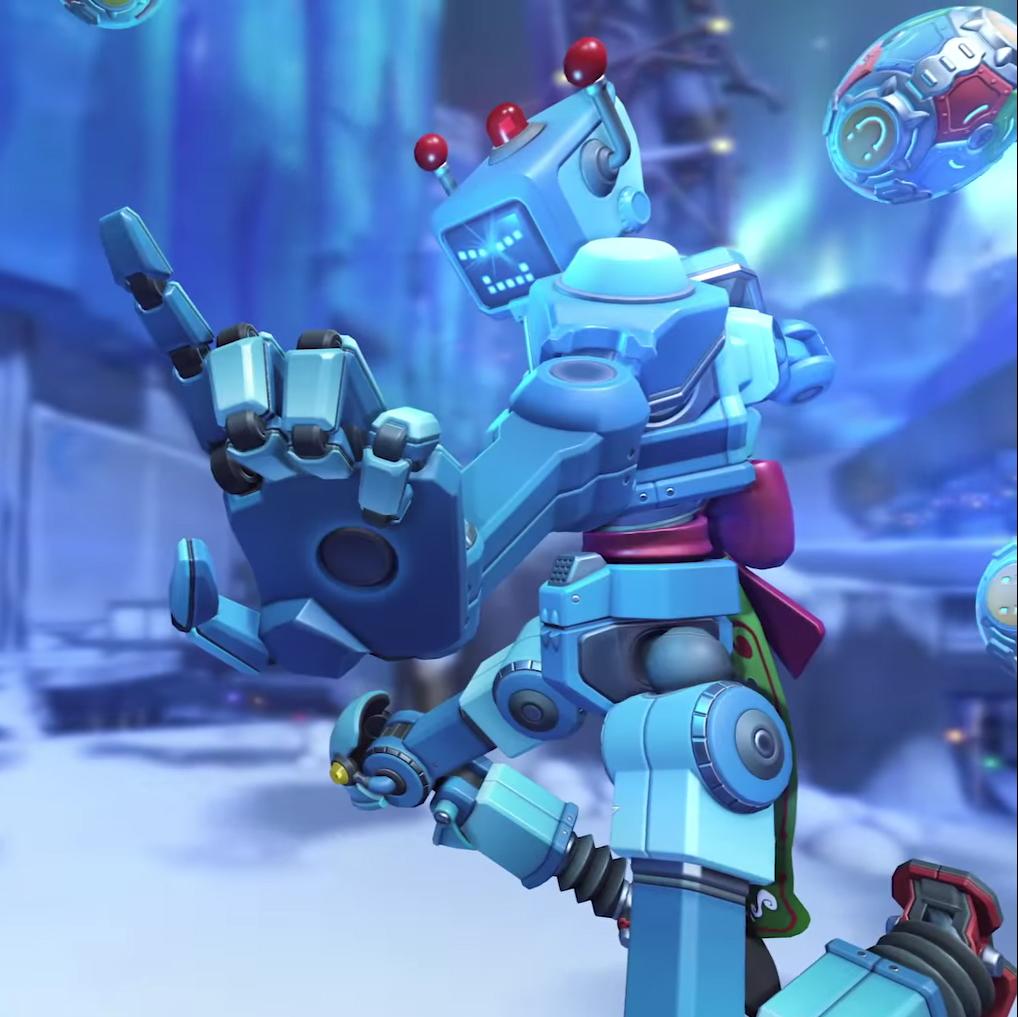 Toybot Overwatch : Zenyatta