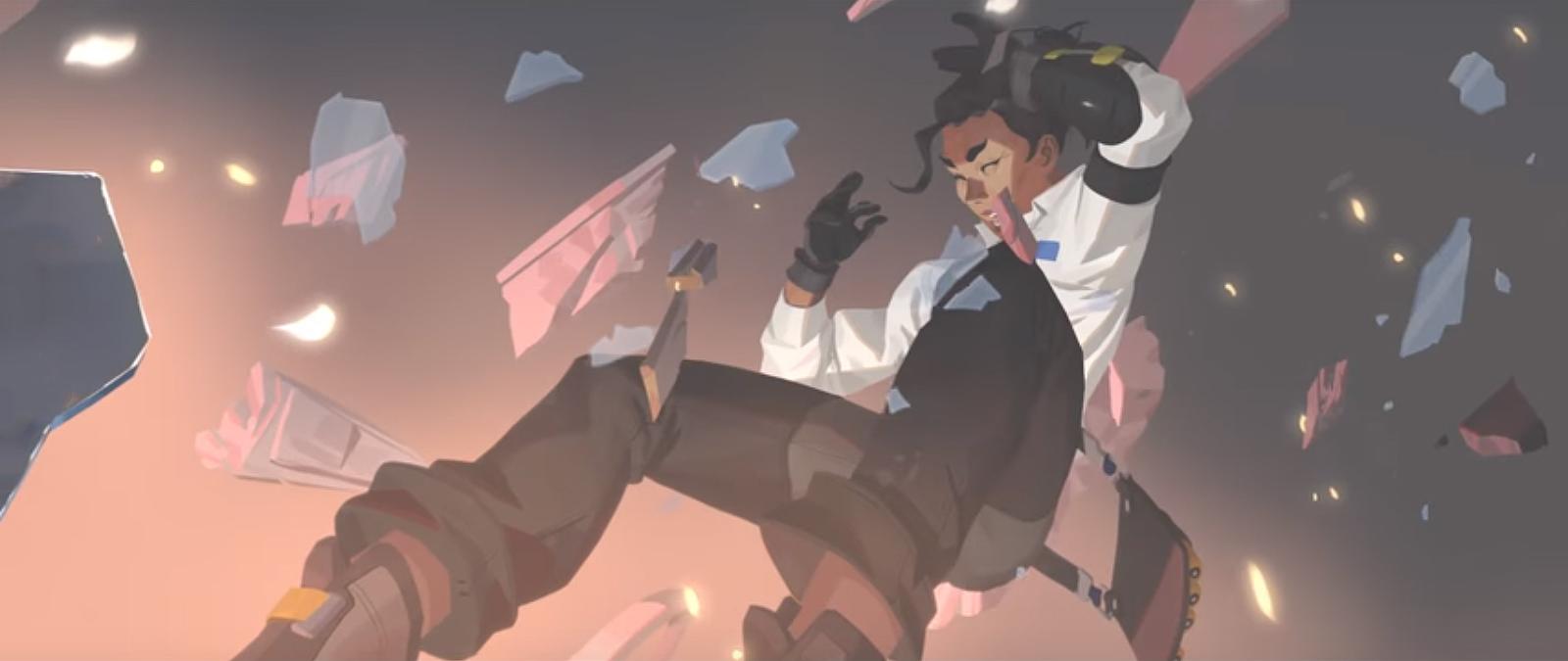 Le Dr Mina Liao fut tuée lors d'une attaque contre une des installations d'Overwatch