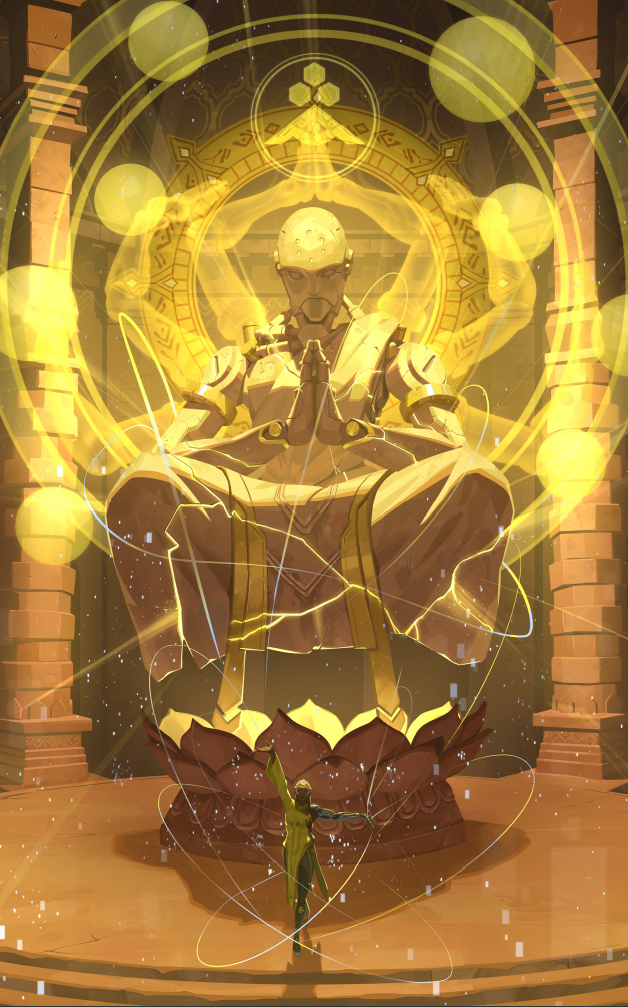 Symmetra présente une amélioration de la statue de Aurora