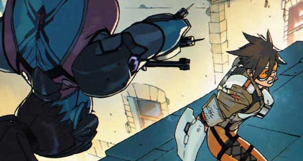 tracer london calling : la deuxieme volume du comic est en ligne