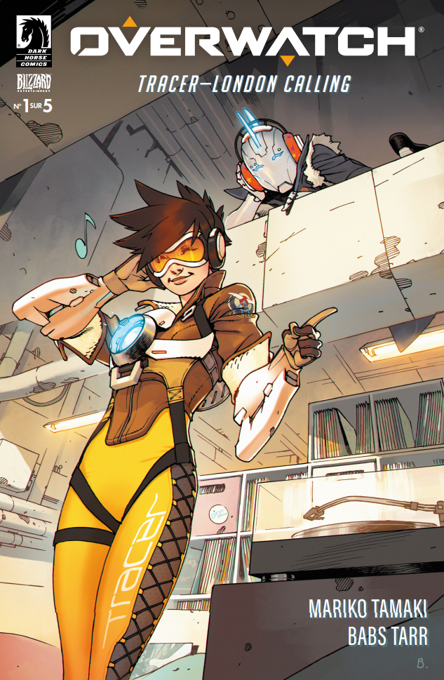 Comic Overwatch : Tracer London Calling (n°1)