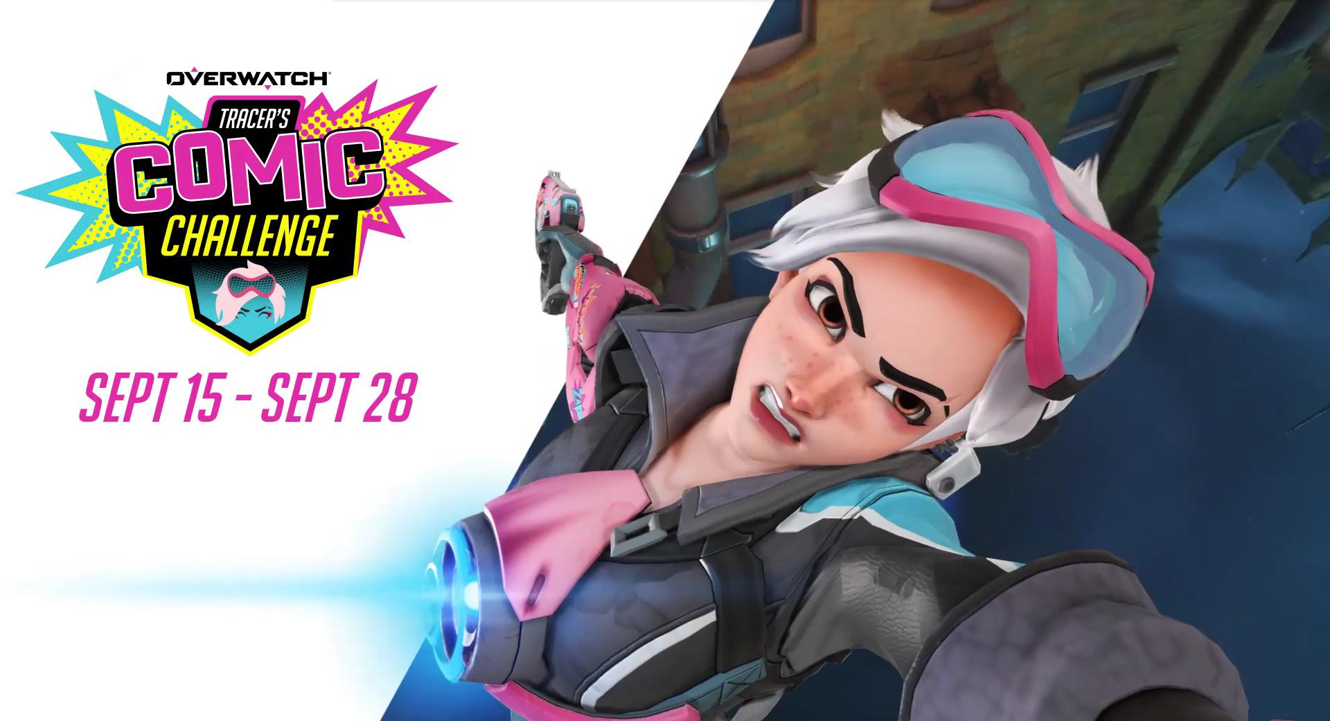 Challenge Tracer Comic : du 15 au 28 septembre 2020