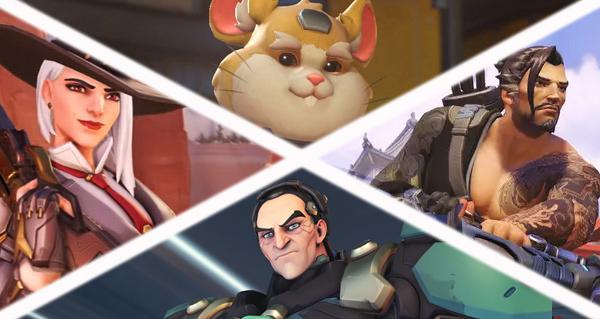 patch overwatch (laboratoire) : equilibrage pour 4 heros du jeu