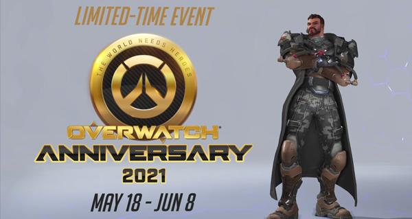 anniversaire overwatch : l'edition 2021 debute le 18 mai !