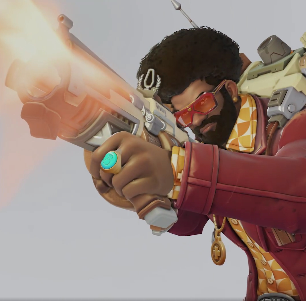 Skin Overwatch Baptiste Funky