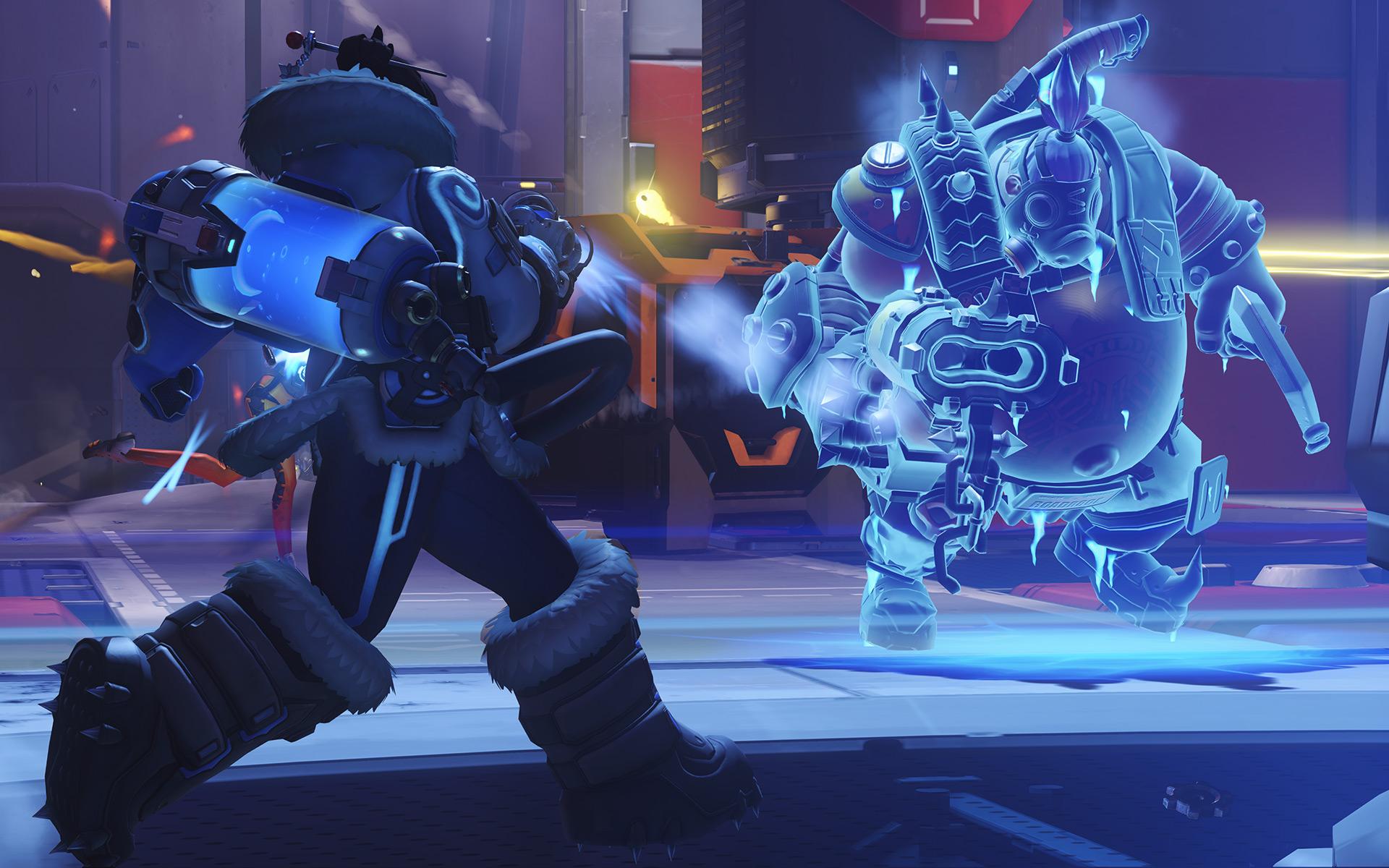 Mei ne pourra plus figer les ennemis avec son canon endothermique dans OW2