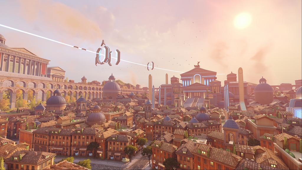 Map PvP Rome dans Overwatch 2