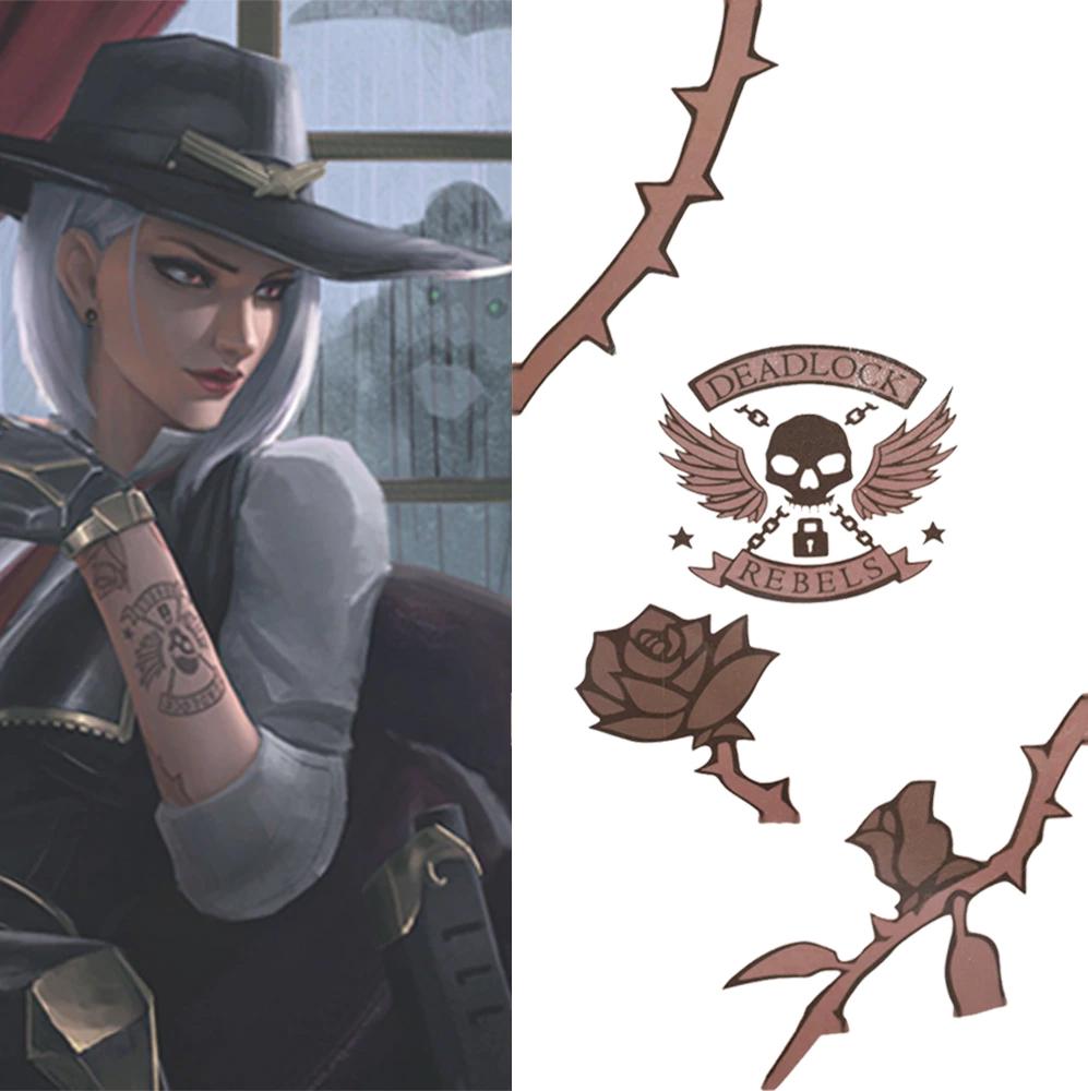 Bientôt des réponses au sujet des tatouages de Ashe dans Overwatch